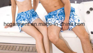 Lovers′ Clothes Couples Clothing, Quickly Dry Beach Wear, Board Shorts for Lover