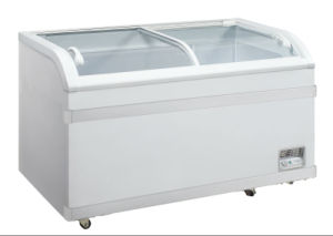 China 500l chest freezer with curved glass doors and led light wd 500l chest freezer with curved glass doors and led light wd 500y planetlyrics Image collections