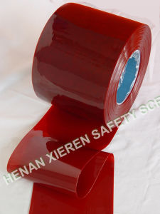 Welding Green/Red PVC Strip Curtain pictures & photos