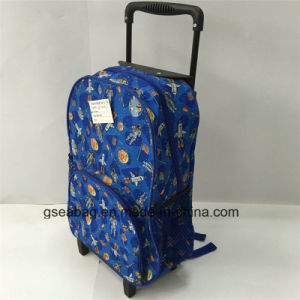 High Quality Trolley Backpack Multi Function Duffel Travel School Kid Bag (GB#10008-3) pictures & photos