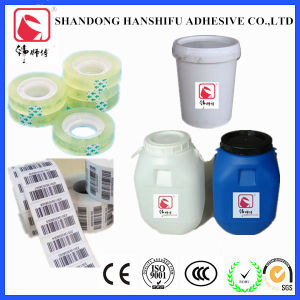 Acrylic Water-Based Pressure Sensitive Adhesive Emulsion/Latex for BOPP Tape pictures & photos