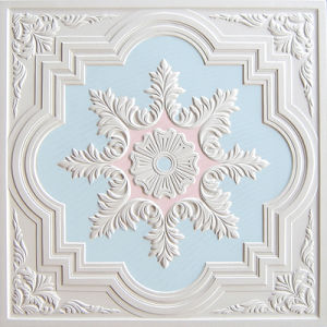 Colorful Gypsum Board Artistic Ceiling-S005bp