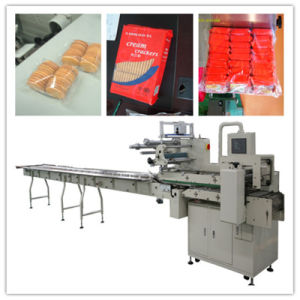 on Edge Multi-Rows Biscuit Packaging Machine pictures & photos