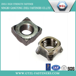 DIN Standard Chinese Manufacturer in Stock A2 A4 Ss304 Ss316 Square Nut pictures & photos