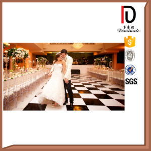 High Quality Movable Solid Wood LED White or Black Dance Floor pictures & photos