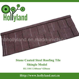 Modern Tiles Stone Coated Steel Roofing Sheet (Shingle Type) pictures & photos