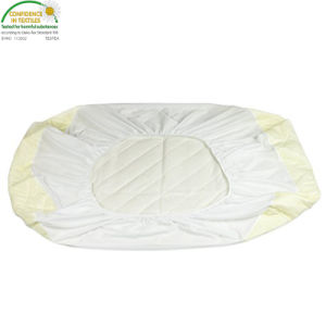 Ultra Soft White Bamboo Terry Fitted Sheet Style Protector Hello Baby Waterproof Crib Mattress Cover