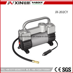 High Quality Quickly Inflate Double Cylinder 12V Car Mini Air Compressor