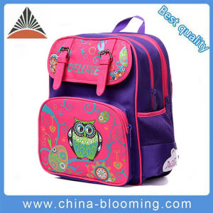 Girls Kids 600d Polyester Printed School Children Backpack Bag pictures & photos