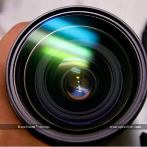OEM RGB Dichroic Filter UV Optical Glass Band Pass Filter 300nm