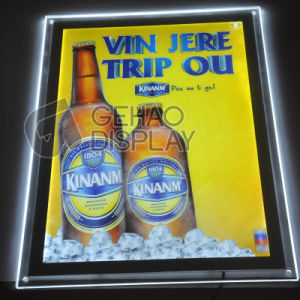 Advertising Lighting Display Transparent Acrylic LED Panel