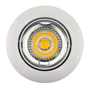 Die Casting Aluminum GU10 MR16 Round Tilt Recessed LED Ceiling Light (LT1200) pictures & photos