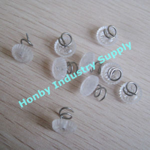 11mm Twist Sofa Binding Clear Round Head Upholstery Furniture Pin