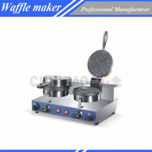 Double Electric Waffle Maker Machine pictures & photos
