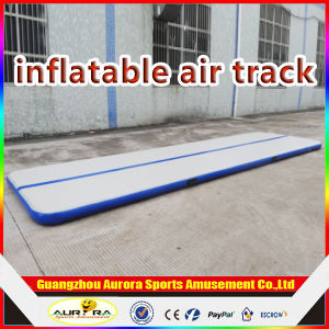 Dwf Material of Inflatable Air Track Mat, Air Board, Inflatable Air Track for Gymnastics