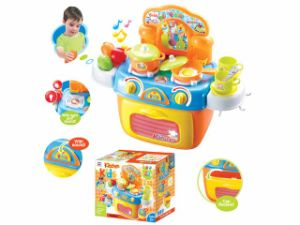 Kids Pretend Play Tool Toy Deluxe Kitchen Play Set ((H0535147) pictures & photos