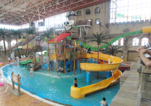 Indoor / Outdoor Aqua Park Equipment, Water House for Family Fun pictures & photos
