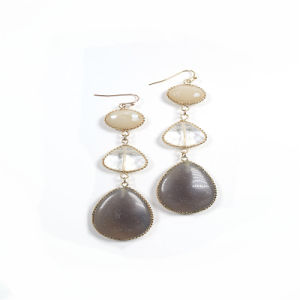 New Item Resin Crystal Glass Drop Fashion Jewelry Earrings