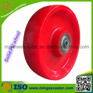 Solid Polyurethane Caster Wheels for Industrial Casters pictures & photos