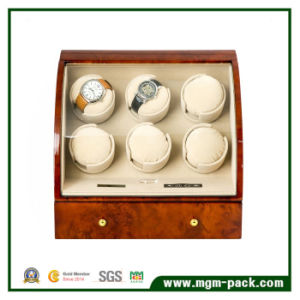 Exquisite Wooden Automatic 6+3 Watch Winder pictures & photos