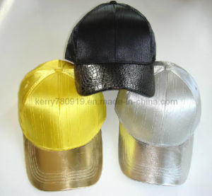Six Panel Constructed PU Caps Hat
