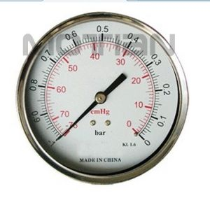 4 Inches Stainless Steel Glass Surface Pressure Gauge
