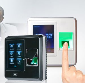 2.8′′ Touch Screen Fingerprint Time Attendance and Access Control with RFID Reader (F04) pictures & photos
