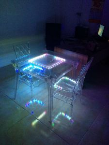 Resin Chiavari Chair with LED Light pictures & photos