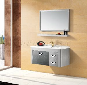 Stainless Steel Bathroom Cabinet (BV2010-81B) pictures & photos