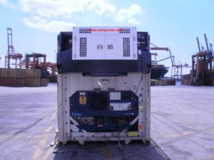 30kVA Carrier Type Reefer (Clip on) Container Diesel Generator Genset pictures & photos