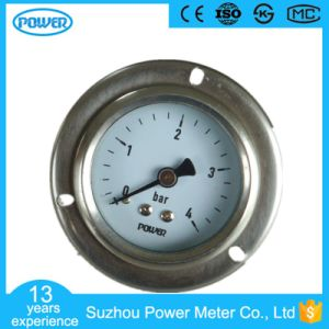 60mm Stainless Steel Case with Flange Manometer with U Clamp pictures & photos