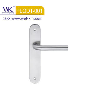 Ss Door Handle on Plate (PLQDT-001)