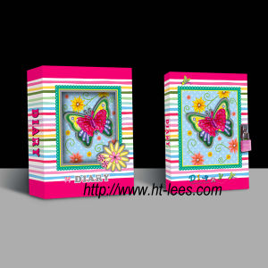 Diary with Lock in Magnetic Gift Box (32K80-9-10)