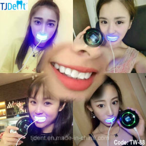 Home Use Convenient Efficient Secure Mini LED Dental Teeth Whitening Unit (TW-88) pictures & photos