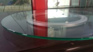 Round Tempered Glass with Rounded Polished Edge Work pictures & photos