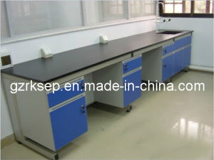Muti-Colored Laboratory Test Bench