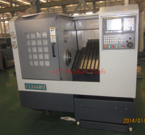 Slat Bed CNC Lathe (Slat Bed CNC Lathe Machine CLK6440A CLK6440/1) pictures & photos