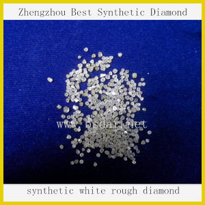 Wholesale High Quality Rough Uncut Synthetic Hpht White Diamond / Henan Zhengzhou CVD Diamond