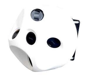 Oblique Photography Camera Mounted on Uav for High Efficient Surveying and Mapping