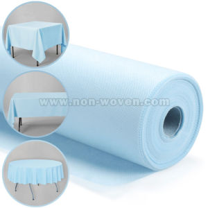 Biodegradable Spunbond Disposable Table Cover pictures & photos