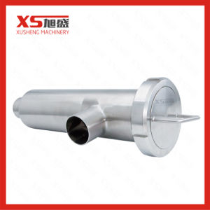"4"" Stainless Steel 316L Hygienic Angle Filter Strainer with Perforated Plate Screen pictures & photos"