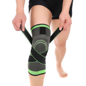 Adjustable Sports Leg Knee Support Brace Wrap Protector Pads pictures & photos