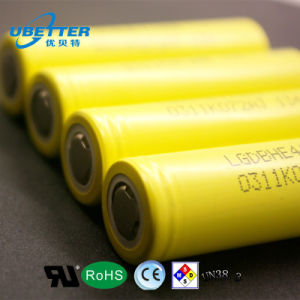 18650 LG He4 Rechargeable Lithium-Ion Battery Cell 2500mAh pictures & photos
