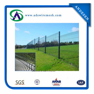 PVC Coated Security Electro Welded Wire Mesh Fence pictures & photos