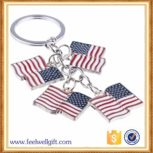 High Quality Colorfilled Color Trolley Coin Keychain pictures & photos