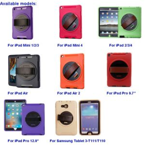 "Very Hot Selling Multi-Function Rotating Tablet Case for iPad PRO 9.7""/Air 2/Air/4/3/Mini pictures & photos"