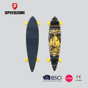 "40"" Speedzone Fish Tail Longboard pictures & photos"