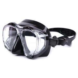 Wholesale Tempered Glass Lens Blue Freediving Mask pictures & photos
