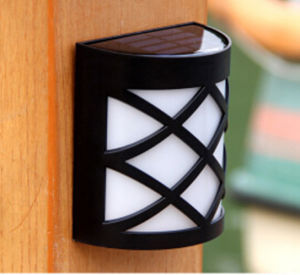 New Style Solar LED Wall Light IP65 Waterproof pictures & photos