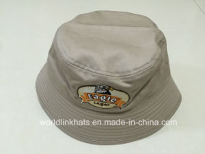 China 100% Cotton Bucket Hat with Embroidery Logo Design - China ... 73a787f78014